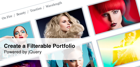 Filterable Portfolio Powered by jQuery